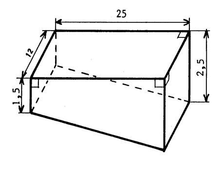 Coll ge calcul du volume de prismes complexes et cylindre - Calcul volume litre ...